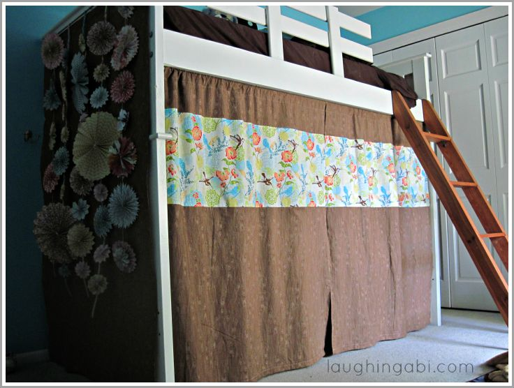 Best 20 Loft Bed Curtains Ideas On Pinterest Loft Bed