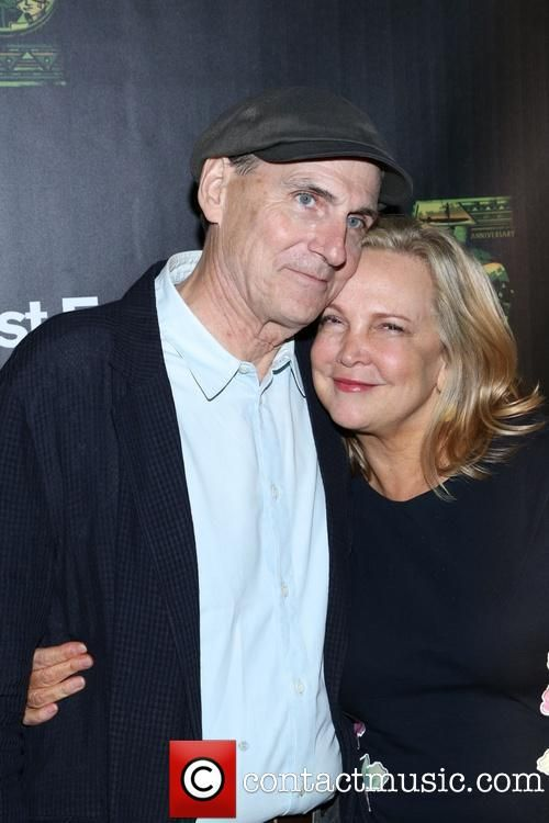 Picture - James Taylor and Kim Smedvig New York New York ...