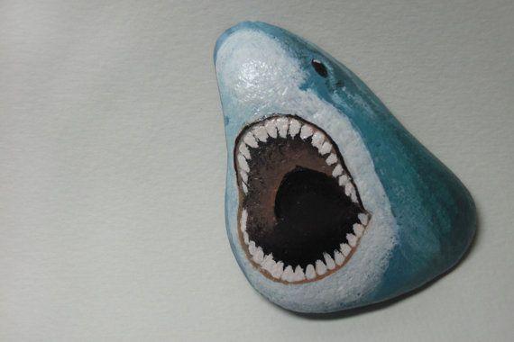 Painted Shark Rock