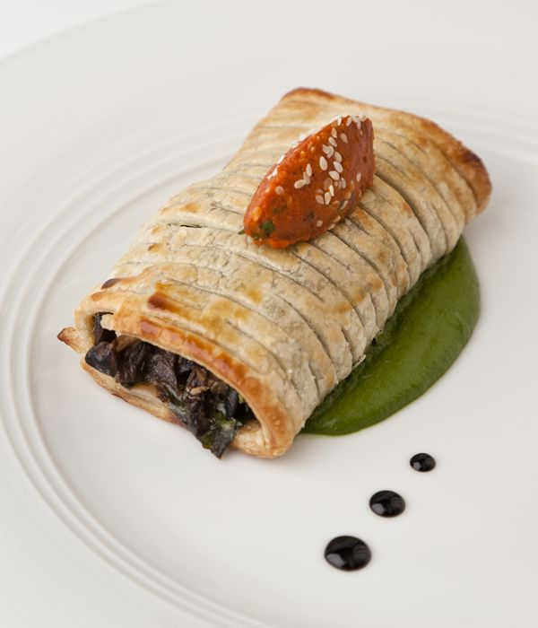This mushroom pastry recipe can be made in a variety of ways. Follow the full Vineet Bhatia recipe to create an impressive starter or simply make the puff pastry and mushroom elements and serve with a salad as a light lunch.