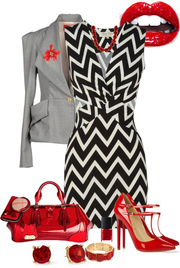 """red hot"" by crystalwestlund on Polyvore"