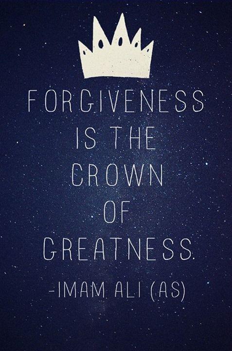 Forgiveness #Imam Ali #Haseeb Mehdi
