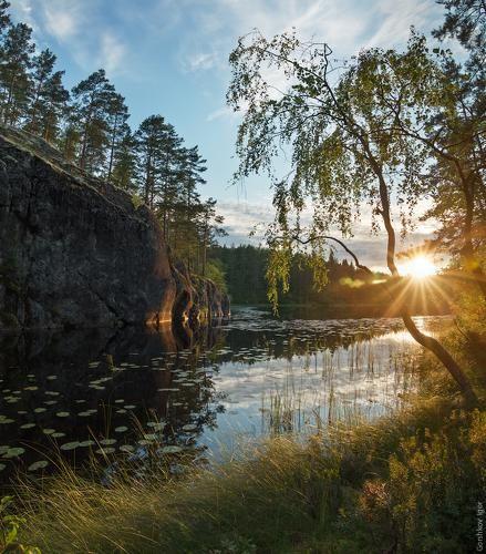 Фотограф Горшков Игорь (Gorshkov Igor) - Карельский закат #941374. 35PHOTO