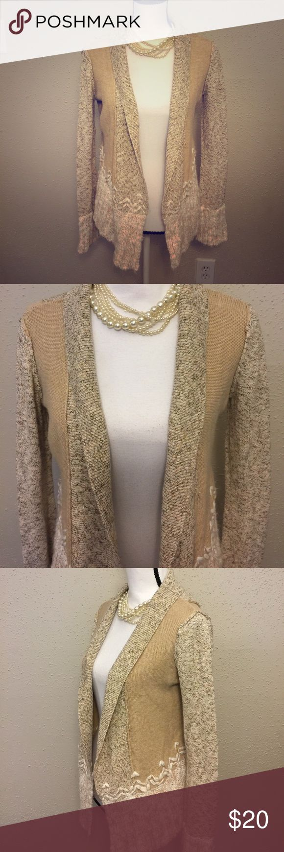 BKE Boutique Women's Size S Open Front Cardigan Great pre-owned condition BKE Sweaters Cardigans