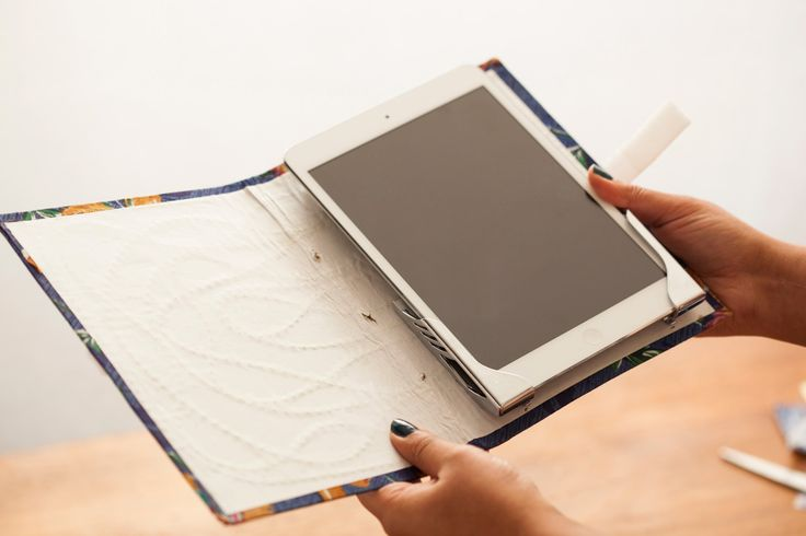 Turn an old notebook into a stylish iPad case with this tutorial.
