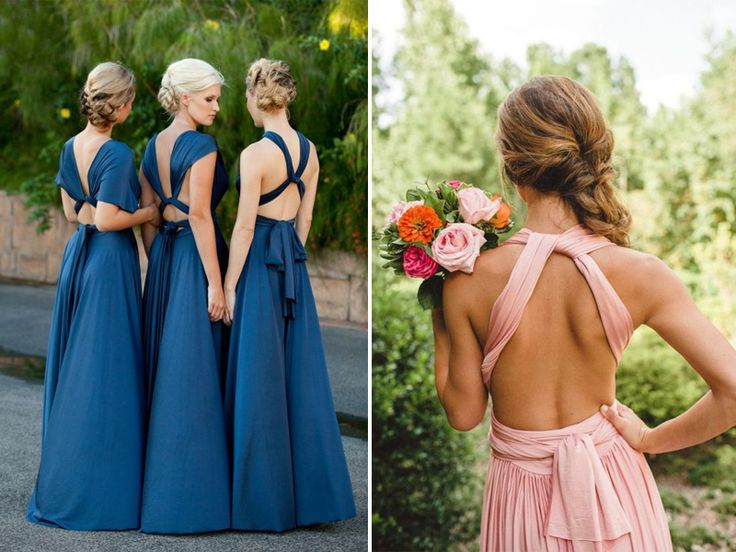 bridesmaid casual with a twist