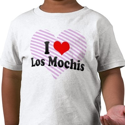 Adorable!  Mochi-loving t-shirt in Spanish!  Go California!