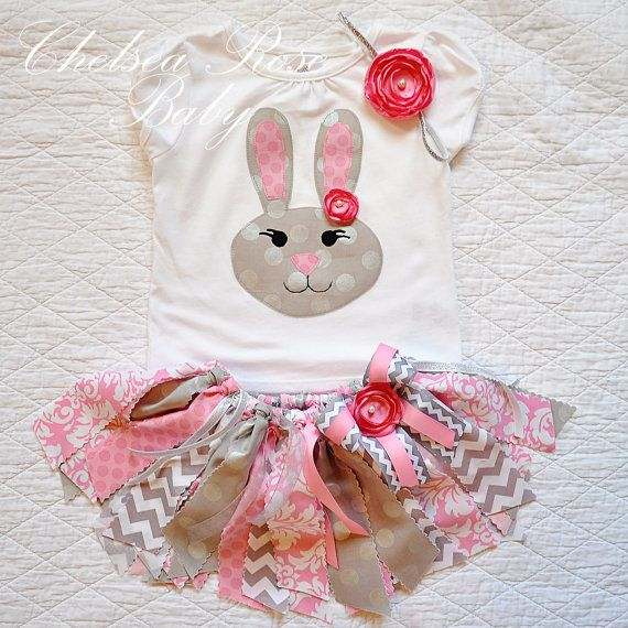 Babies First Easter Dress https://www.etsy.com/listing/220308690/girls-easter-outfit-easter-bunny-shirt