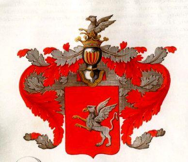 Герб Нелединских-Мелецких.