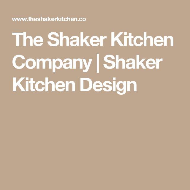The Shaker Kitchen Company   Shaker Kitchen Design