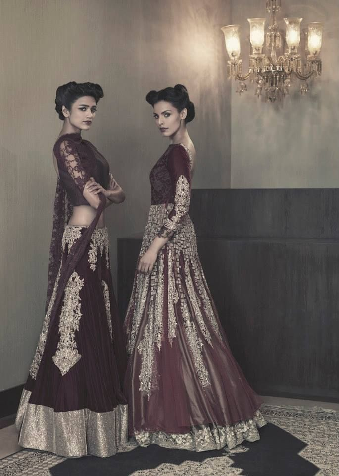 Outfit by:Manish Malhotra  I could definitely use this as inspiration for some of the costumes I'm working on!