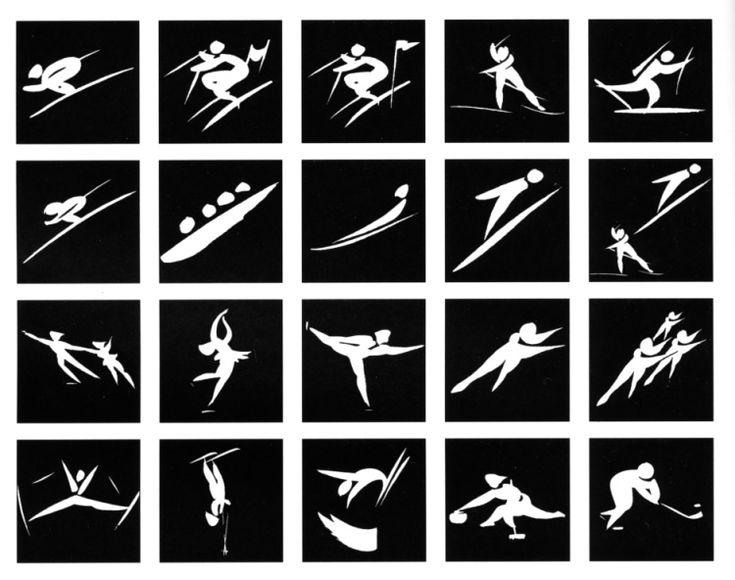 pictogram olympic games 1992 albertville
