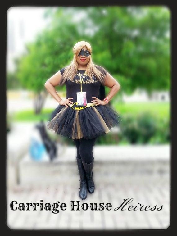 $63.37 Plus Size Up to 5X!! BatMan Tutu Costume BatMan tutu by CarriageHouseHeiress