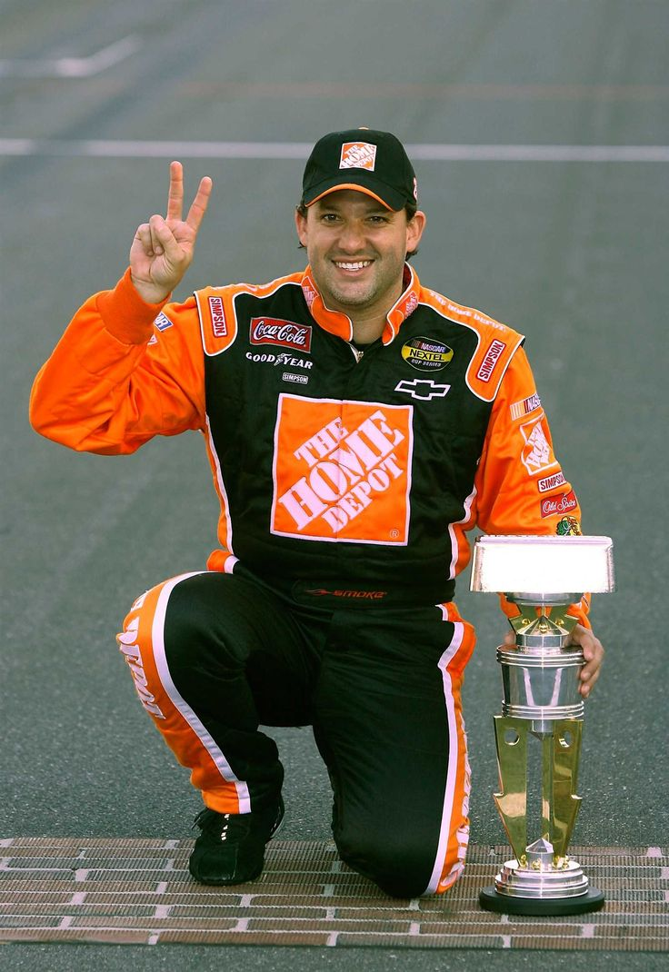 All of Tony Stewart's Sprint Cup Series victories Sunday, June 26, 2016 31. July 29, 2007 Indianapolis Motor Speedway Allstate 400 at The Brickyard It took seven years for Tony Stewart to get his first win at Indianapolis, but only two more to get his second. After starting 14th, Stewart was in the lead by Lap 17. In a hard-fought race with 15 lead changes, Stewart was out front again when it counted: the final 10 laps.