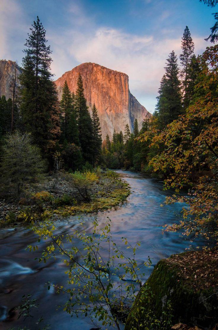 El Capitan over the Merced River, Yosemite National Park [OC] [2649x4000]