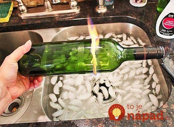 Prázdne fľaše od vína sa z času na čas nájdu hádam v každej domácnosti. Došli vám nápady, ako ich využiť a preto fľaše jednoducho vyhadzujete? Čo by ste povedali na to, keby tieto fľaše charakteristického