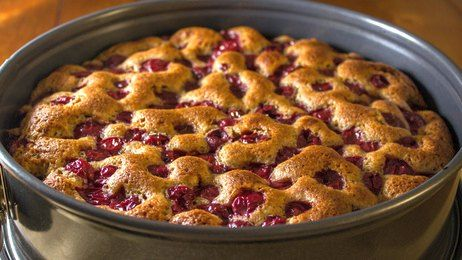 How to make Cherry Kuchen from Scratch