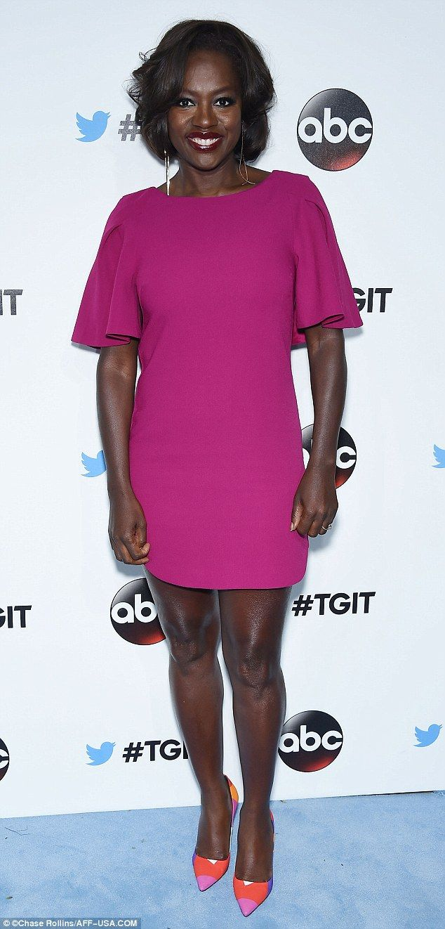 Pretty In Pink! How To Get Away With Murder Star Viola Davis Wore An Elegant