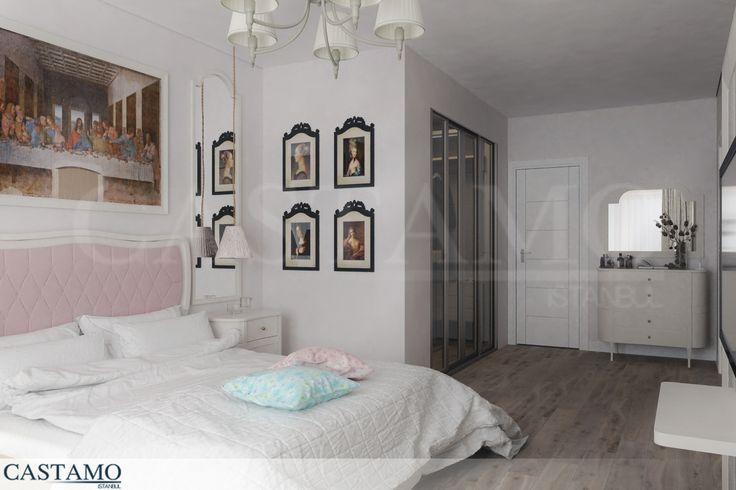 Yatak odasında huzurun ve rahatlığın hakim olduğu bir atmosfer yaratmak isteyenler için Castamo Mobilya, birbirinden şık yatak odası modelleri sunuyor.  #castamo #mobilya #yatak #odası #takımı #dekorasyon #tasarım