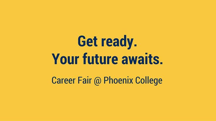 Mark your calendar. Prepare your resume and stop by all the booths.   Phoenix College will be hosting a career fair on Wednesday, October 19 from 9:00 a.m. to 1:00 p.m. in the college's Sophomore Square.   Over 30 employers will be on campus and ready to hire! Be sure to dress to impress and bring updated copies of your resume.   Need help preparing? Stop by PC Career Services! They can assist with interview prep and help you freshen up your resume.   The Phoenix College Career Fair is f