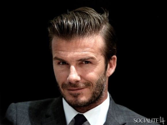 NANJING, CHINA - JUNE 19: David Beckham attends a forum for Chinese Super League at Hilton Hotel on June 19, 2013 in Nanjing, Jiangsu Province of China.