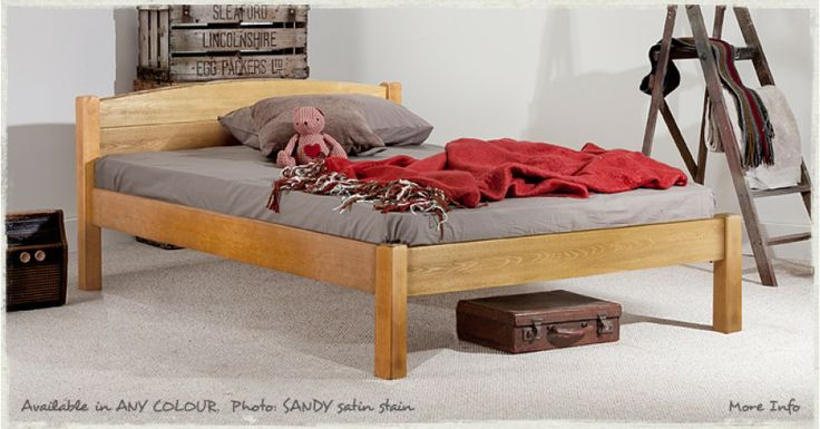 Classic Bed. http://www.getlaidbeds.co.uk/wooden-beds/standard-height-beds/classic-wooden-bed-frame The Classic Bed Frame is a simple more traditional bed with a small curved headboard providing extra comfort and support. This honest classic bed boasts good clearance and offers valuable storage space under the bed using our custom designed 'standard' drawer boxes or for simply storing loose items.