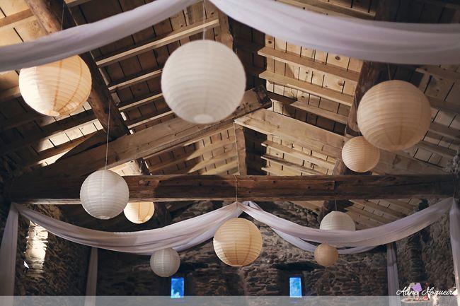 26 Tenture décoration salle mas provençal
