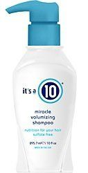 It's A 10 Miracle Volumizing Sulfate Free Shampoo (10 oz.) by It's a 10. $12.70. Does 10 things instantly. Volumizing formula. Sulfate-free. Nourishes hair. Non drying formula. Improves elasticity. Deep clensing. Adds bounce. Adds shine. Adds texture. Color protectant.. Save 67% Off!