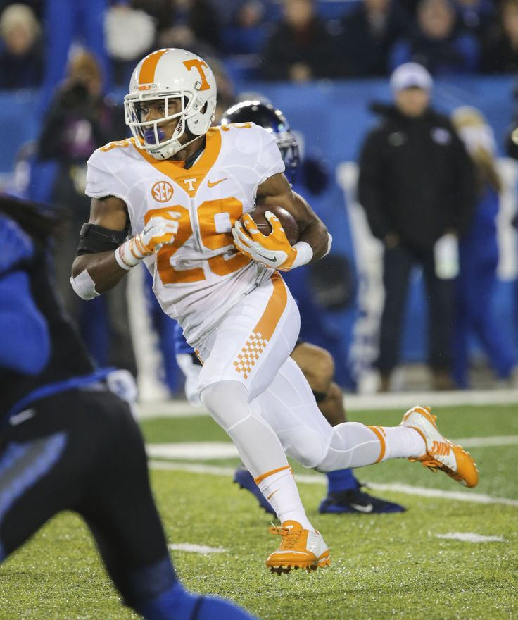 Evan Berry kick return for touchdown -- Tennessee vs Kentucky.