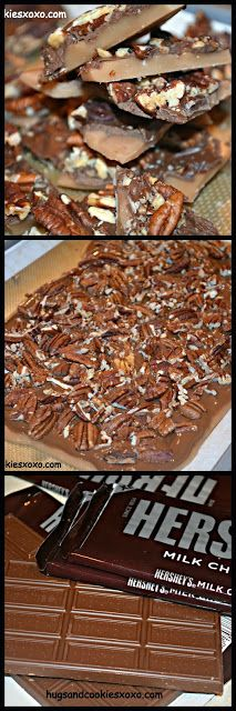 Hugs & CookiesXOXO: WORLD'S MOST SCRUMPTIOUS ENGLISH TOFFEE WITH MILK CHOCOLATE & TOASTED PECANS!!!!