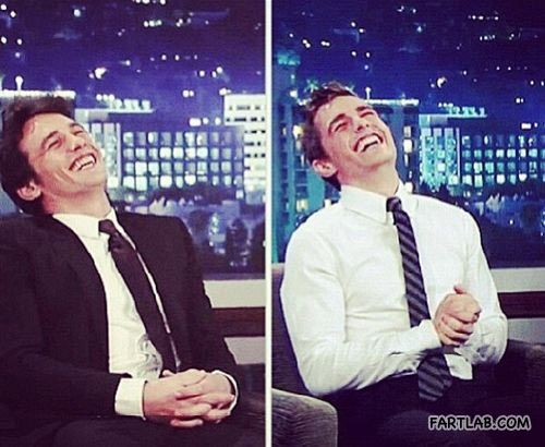 James and Dave Franco are probably the same person.