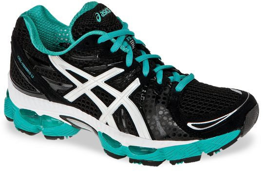 new Asics Nimbus running shoes.