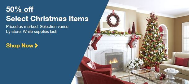 Lowe\u0027s Christmas Clearance 85 off + Free In-Store Pick Up