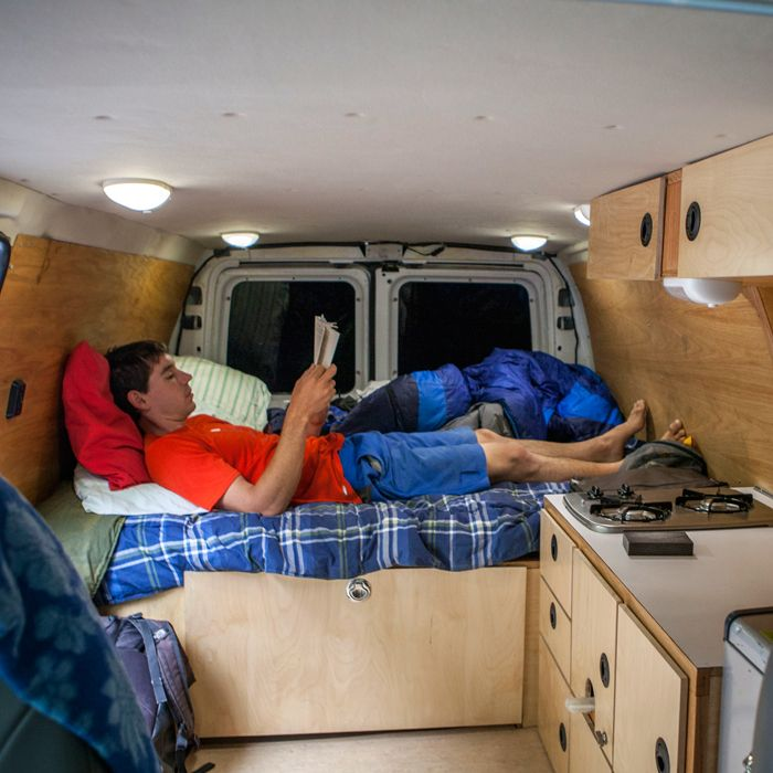 Alex Honnold's Ultimate Adventure Vehicle | Pro Shop | OutsideOnline.com  Okay I can live here, Right...Now....