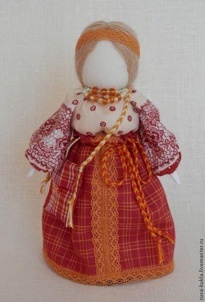 Народные куклы ручной работы. Ярмарка Мастеров - ручная работа Народная кукла Успешница. Handmade.