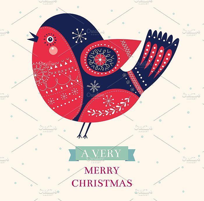 Beautiful Christmas collection by MoleskoStudio on @creativemarket