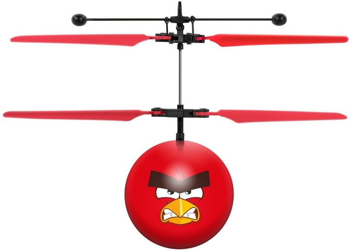 World Tech Toys Rovio Angry Birds Movie Red IR UFO Ball Helicopter