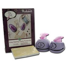 2-Punch Kit with Cards. Kit includes: Leverback and Double-Post Punches plus 25 Starter Earring Cards.