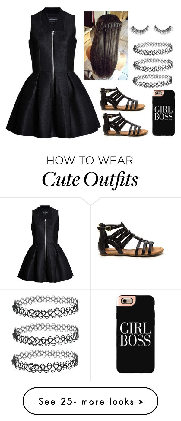 """ Cute Outfit "" by amnavore on Polyvore featuring Casetify"