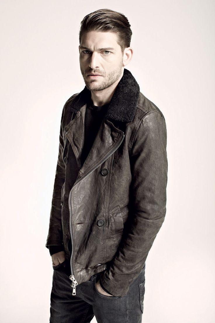: Men S Style, Men S Fashion, Mens Fashion, Men Style, Men Fashion, Mensfashion, Leather Jackets, Hair