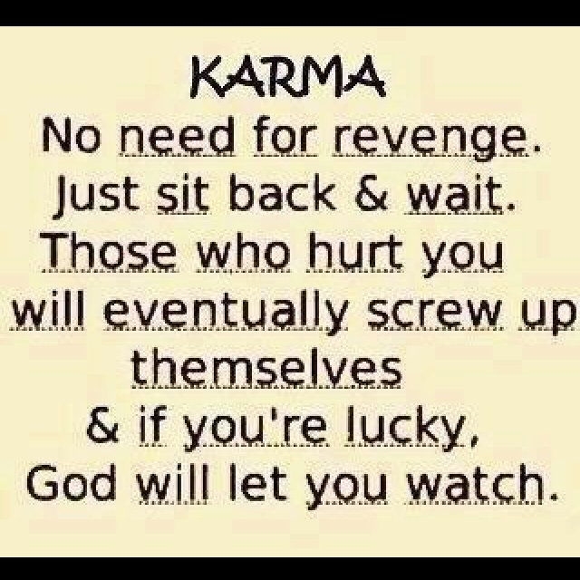 Karma And Revenge Quotes: Quotes About Karma And Cheating. QuotesGram