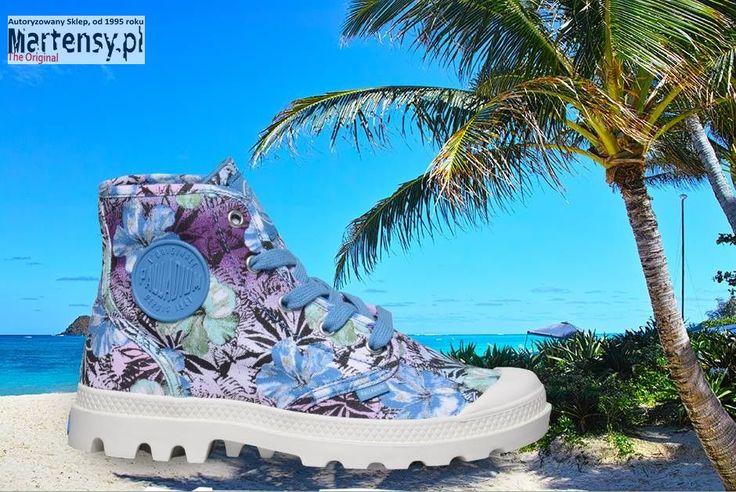 Ożywiamy szare, jesienne ulice! Co powiecie na te kolorowe buty Palladium?