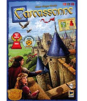 Carcassonne, et brettspill fra Spillskrinet