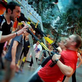 TRX - revoluční metoda cvičení ve fitness doubleDRIVE clubu Jihlava