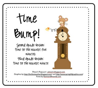 Free second and third grade versions. Third grade works on time to the minute.