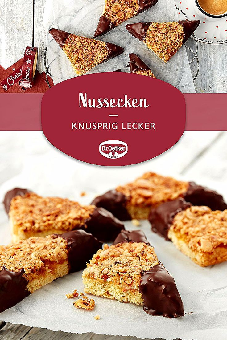 Nussecken in 2020 Cake mix cookie bars, Oreo recipes