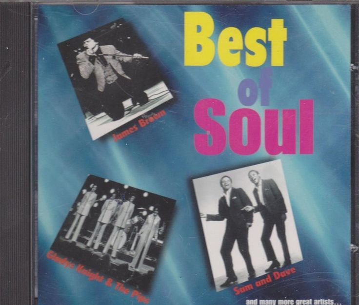 Best of Soul (CD 1996) James Brown, Gladys Knight & Pips, Sam & Dave ATP 011 #MotownSoul