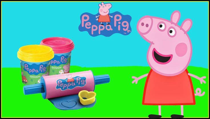 Peppa Pig Mega Dough Set Play Doh Cookies Cupcakes Fábrica loca - Juguet...