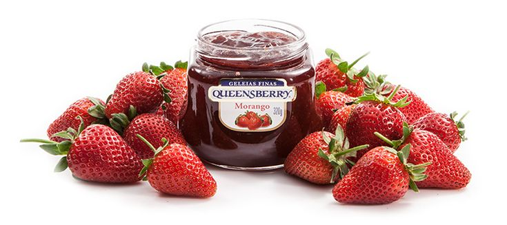 Cheesecake com cobertura de Geleia de Mirtilo - Queensberry - Cheesecake com cobertura de Geleia de Mirtilo
