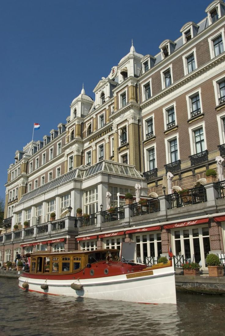 Amstel Hotel, Amsterdam. #amsterdam #historic #sites